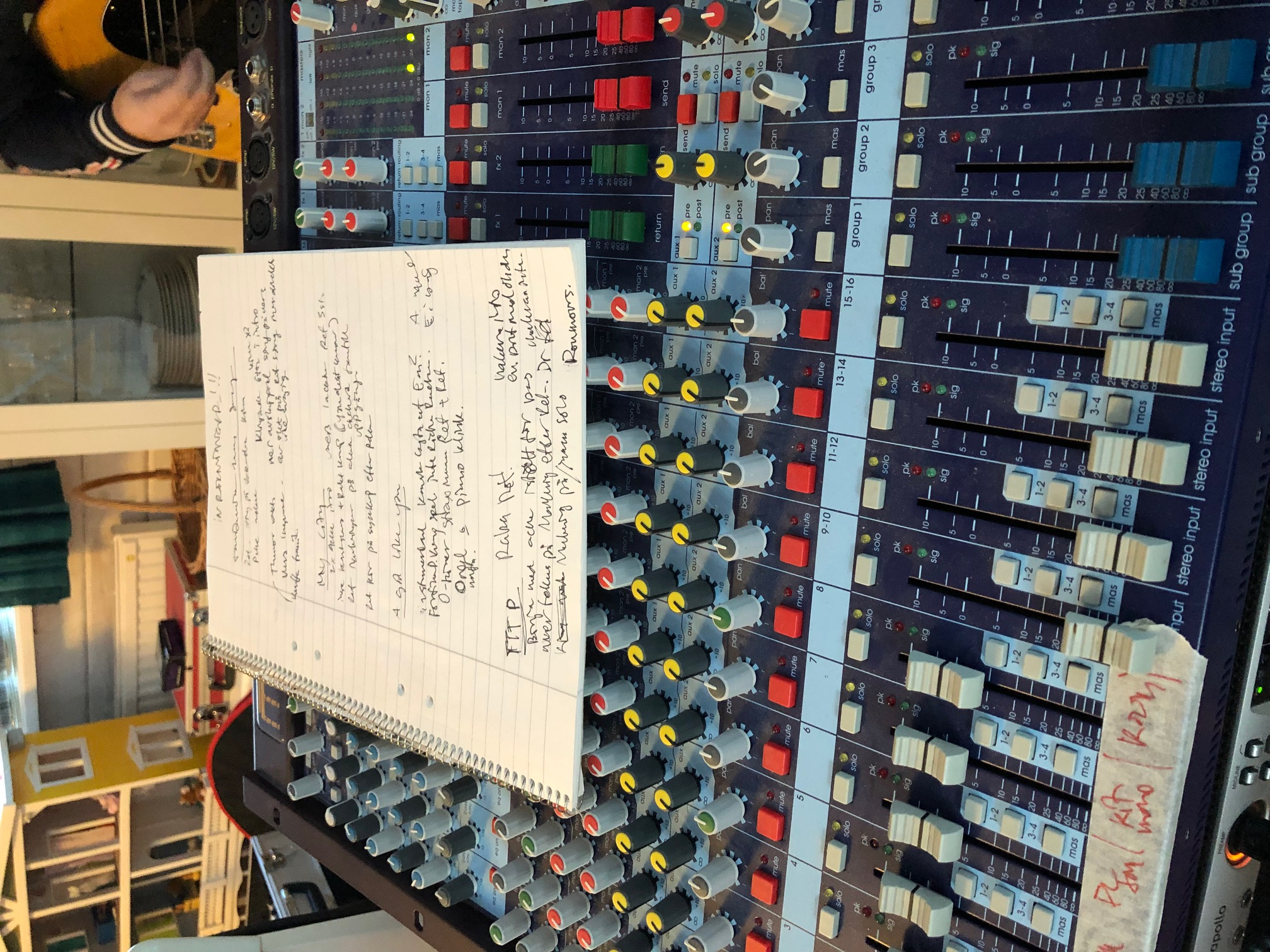 Mixer and Producer notes